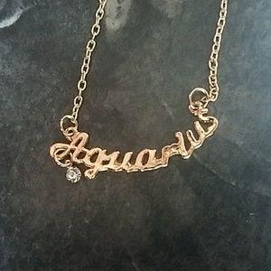Jewelry - Aquarius Zodiac Necklace